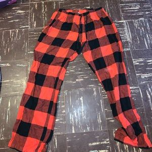 Checker Pajama Pants